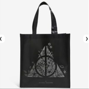 HARRY POTTER Deathly Hallows REUSABLE TOTE BAG!